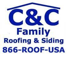 C & C Family Roofing & Siding logo