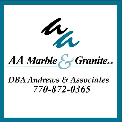 AA Marble & Granite logo
