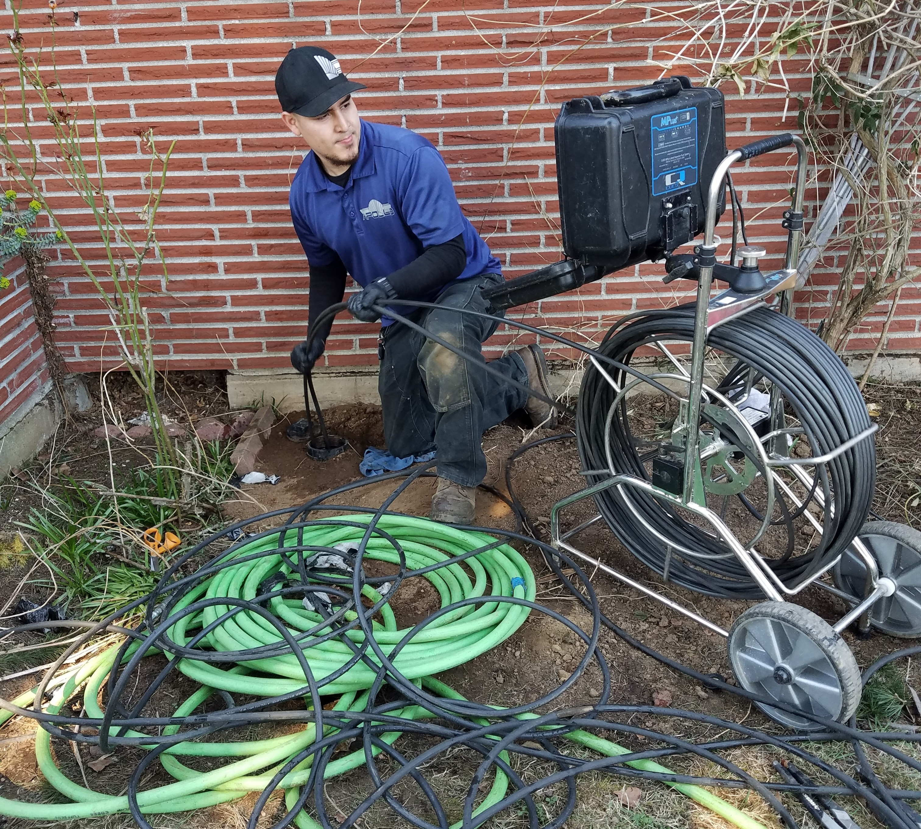 Sewer Scope Due to Root Instrusion