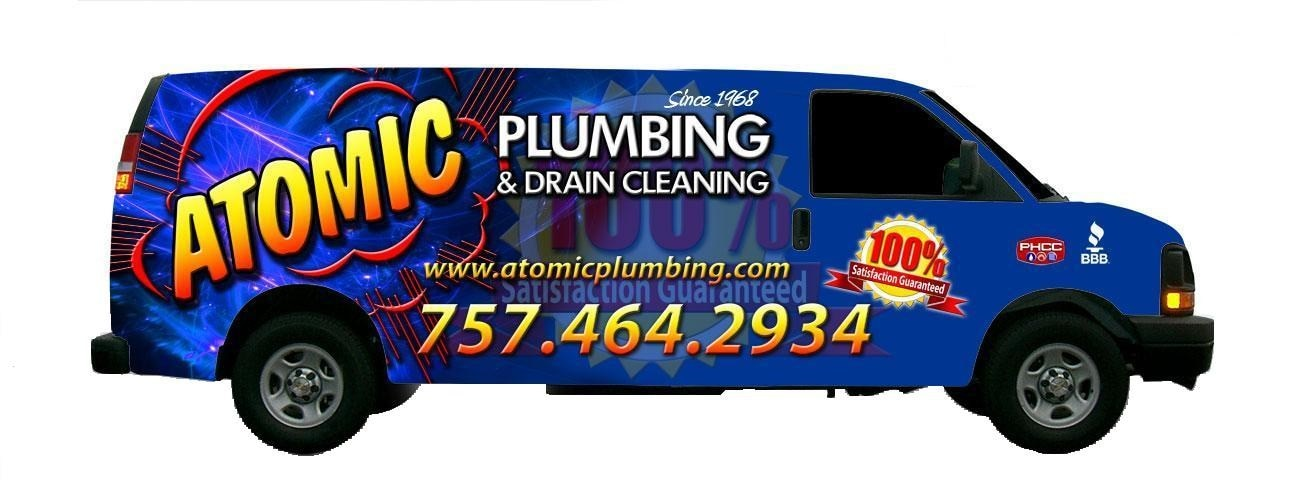 Atomic Plumbing & Drain Cleaning Corporation logo