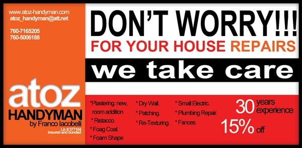 A 2 Z Handyman & Home Improvement logo