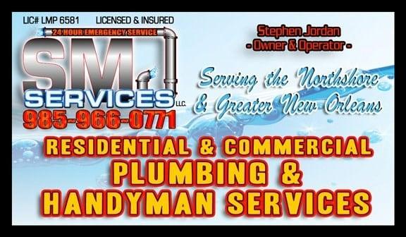 SMJ Services LLC Plumbing Services logo