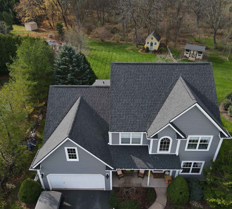 Charcoal Grey Home