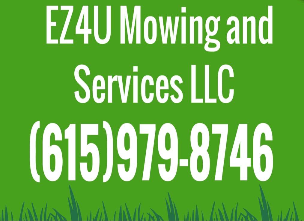 EZ4U Mowing  logo