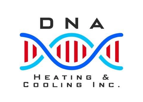 DNA Heating & Cooling, Inc. logo