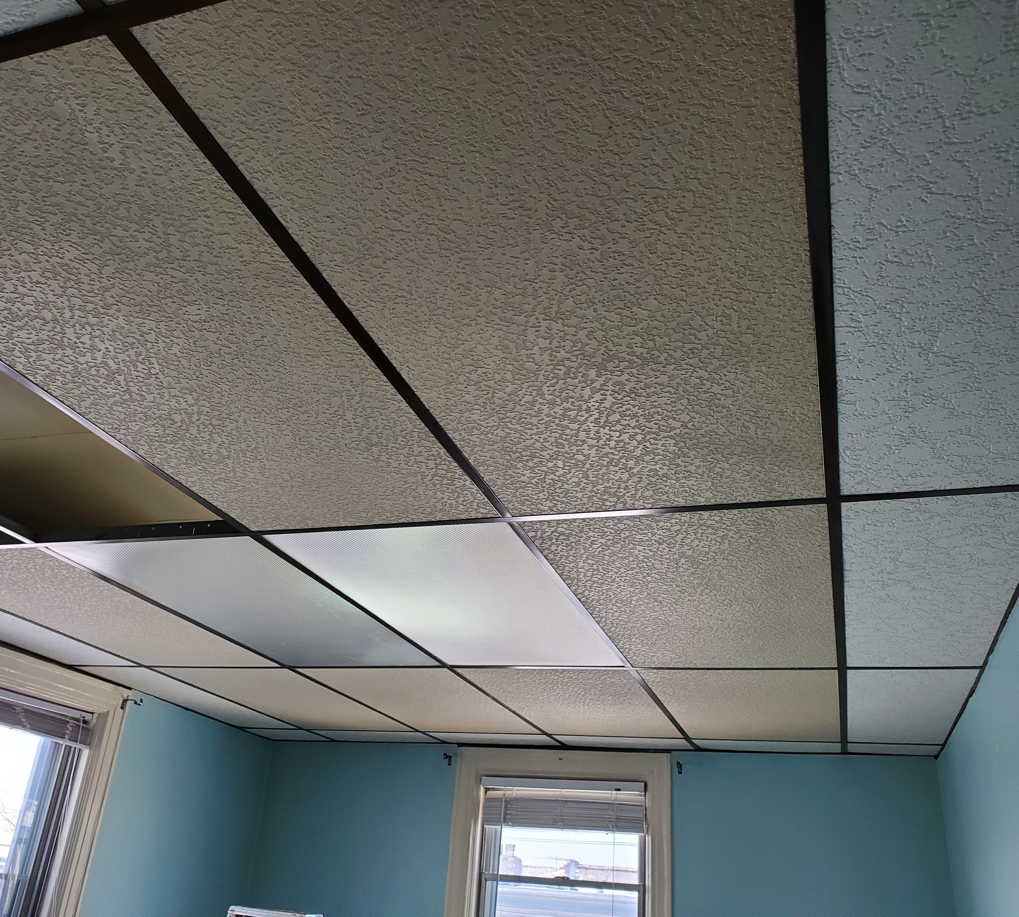 Drop Ceiling removal.