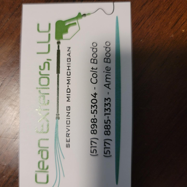 Clean Exteriors LLC logo