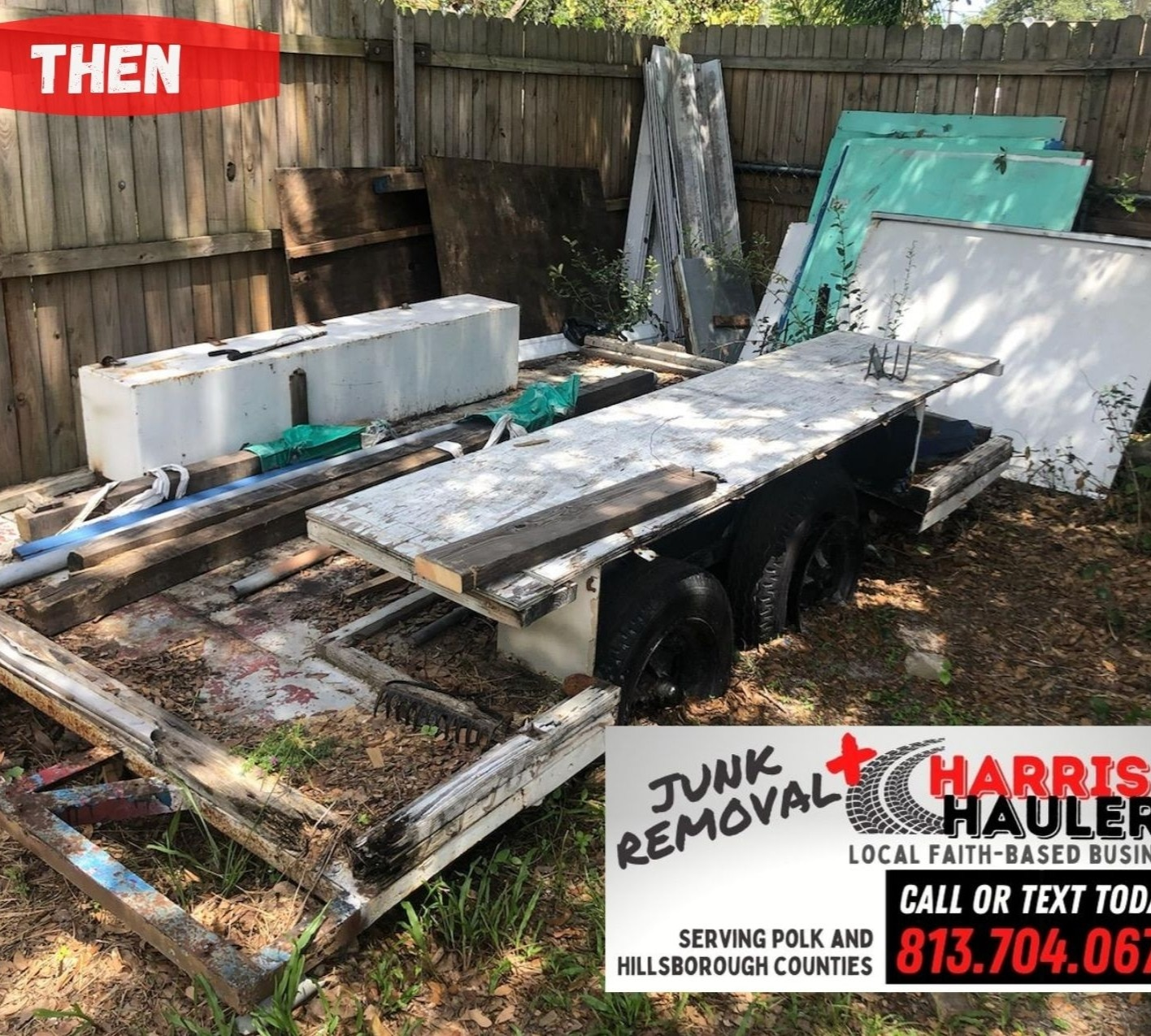 Trailer Removal - Emergency Service for Closing Agent