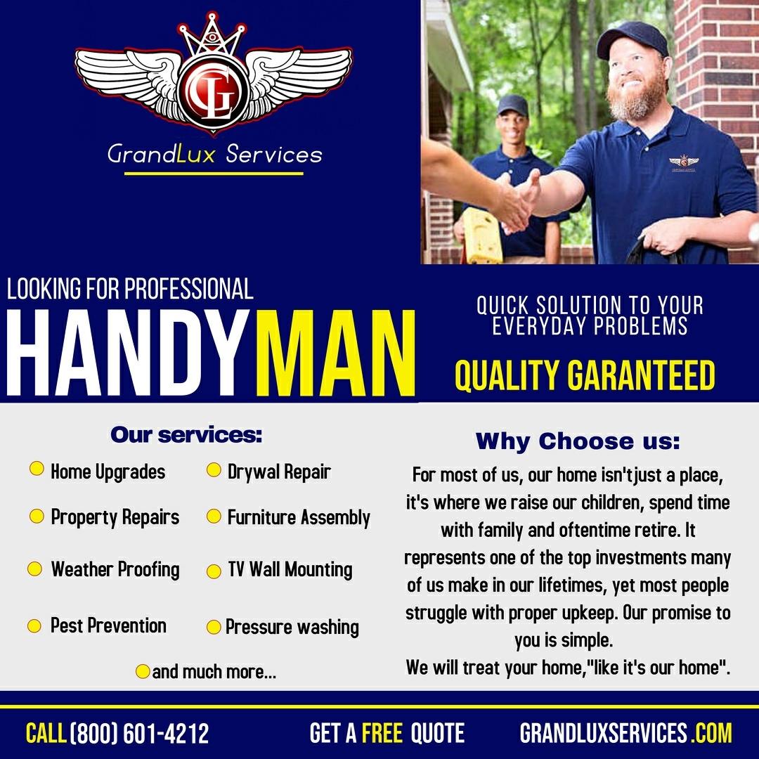 GrandLux Services  logo
