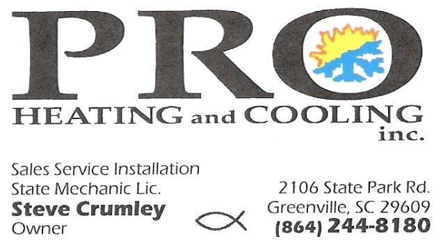 Pro Heating & Cooling Inc logo