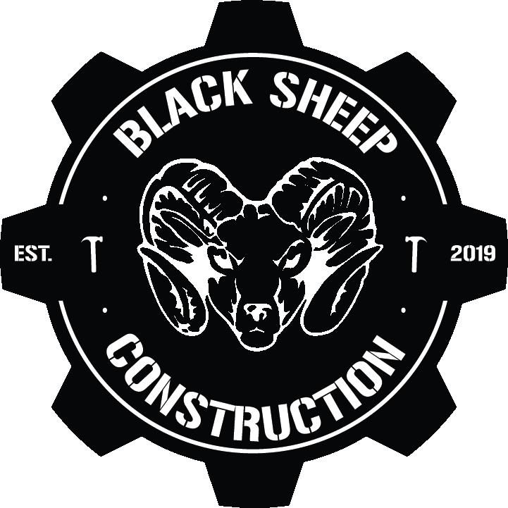 Black Sheep Construction  logo