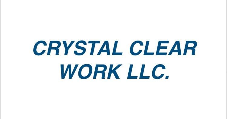 CRYSTAL CLEAR WORK LLC logo