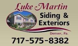 Luke Martin Siding and Exteriors logo