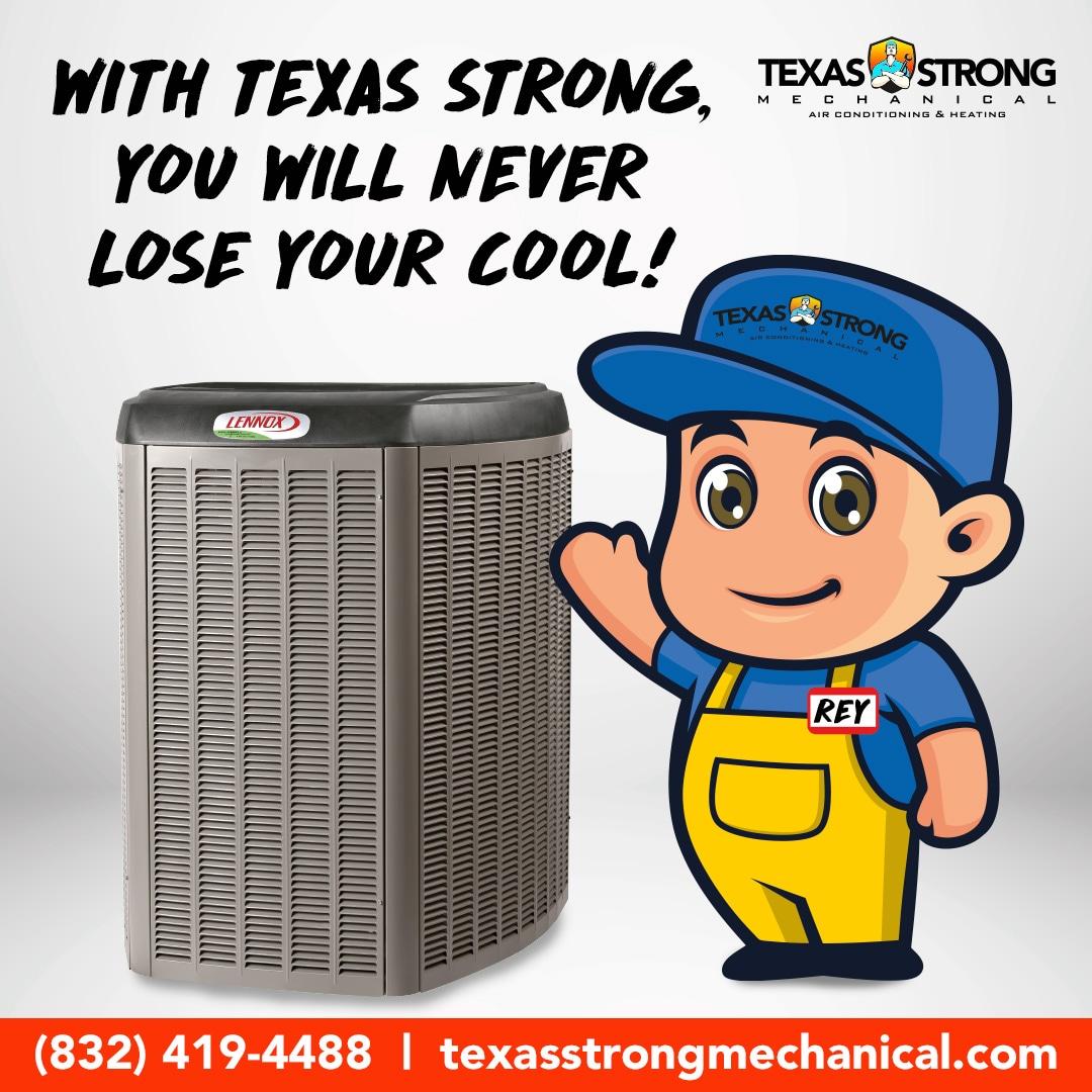 Texas Strong Mechanical logo
