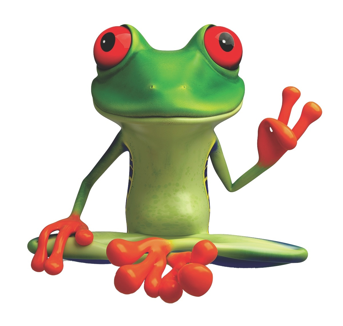 Peace Frog Specialty Cleaning logo