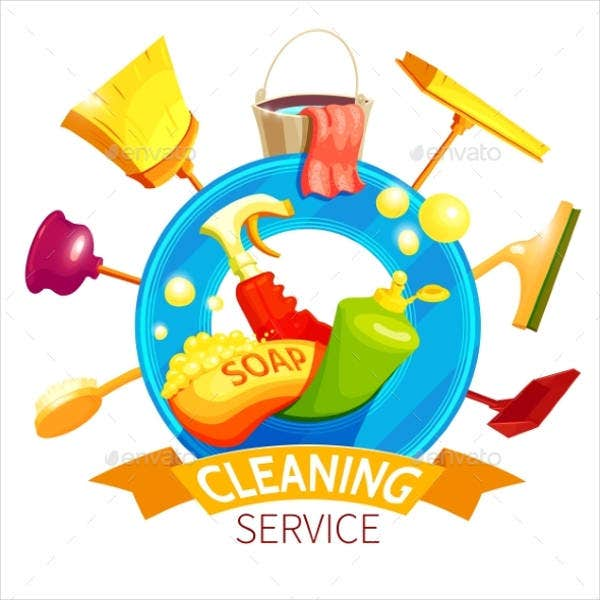 Ashley's Cleaning service logo