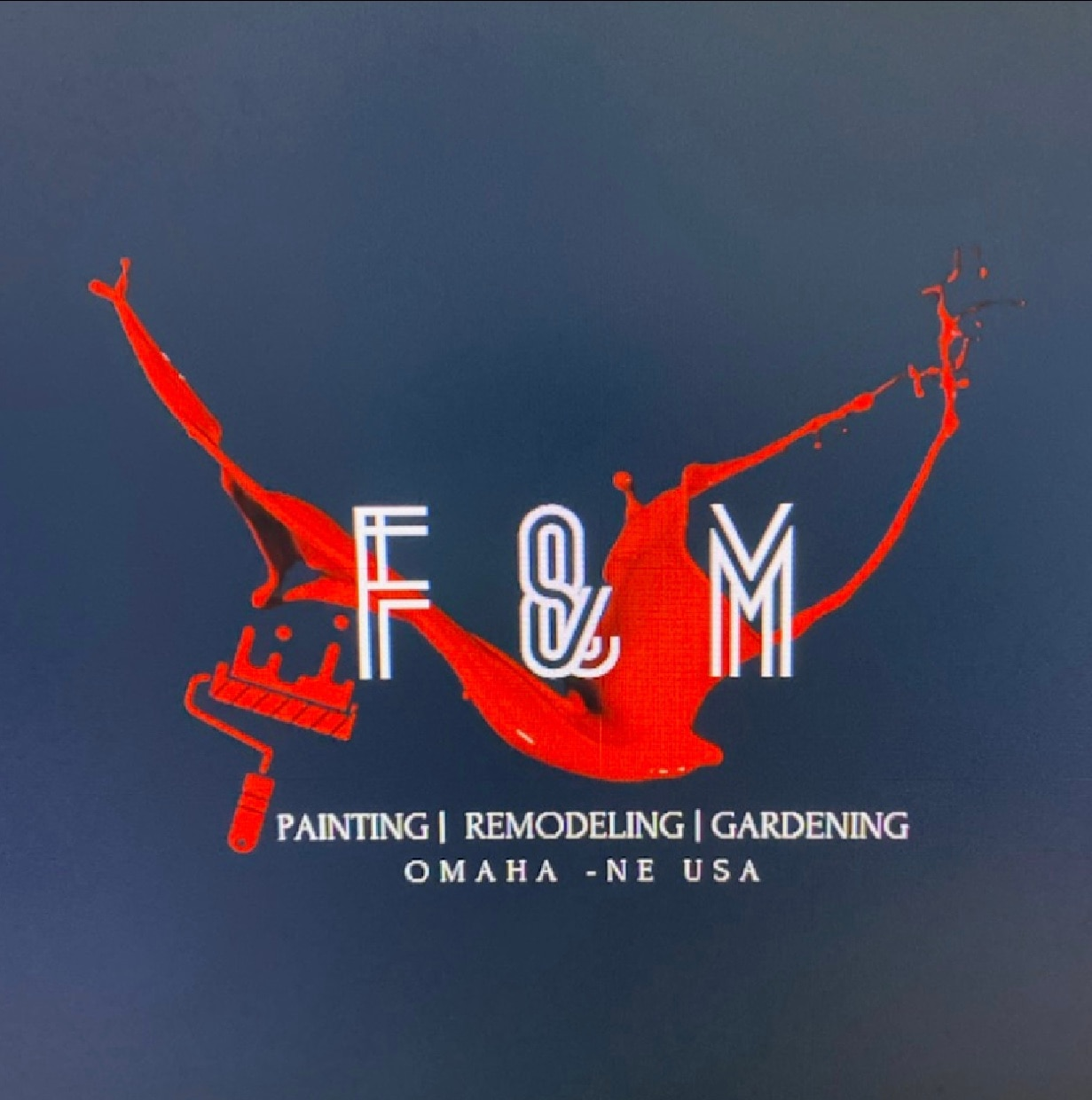 F & M Painting & Remodeling  logo