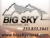 BIG SKY CONSTRUCTION INC logo