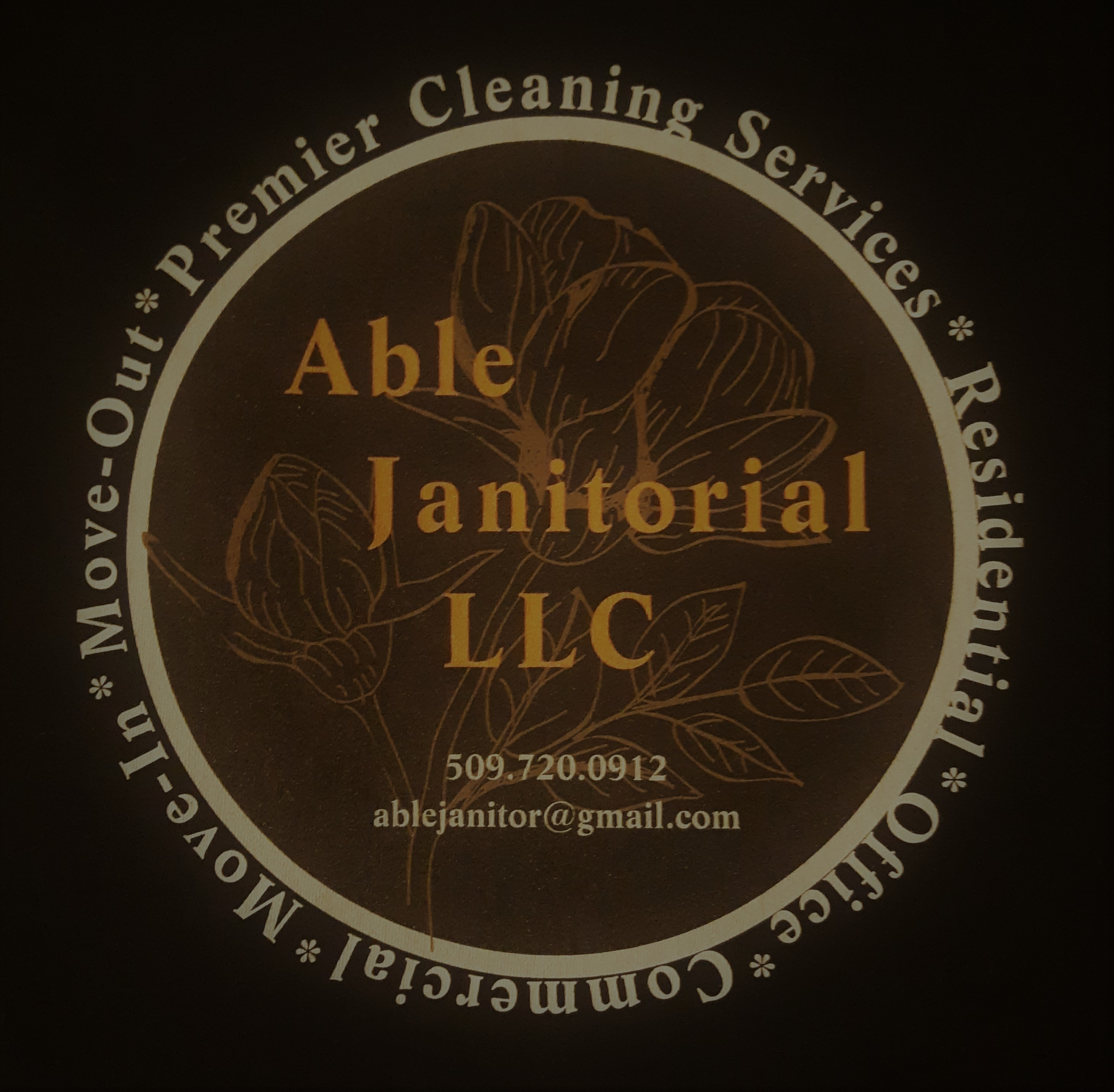 Able Janitorial LLC logo