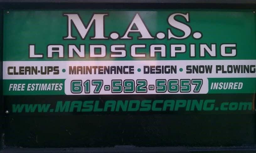 Mas Landscaping logo