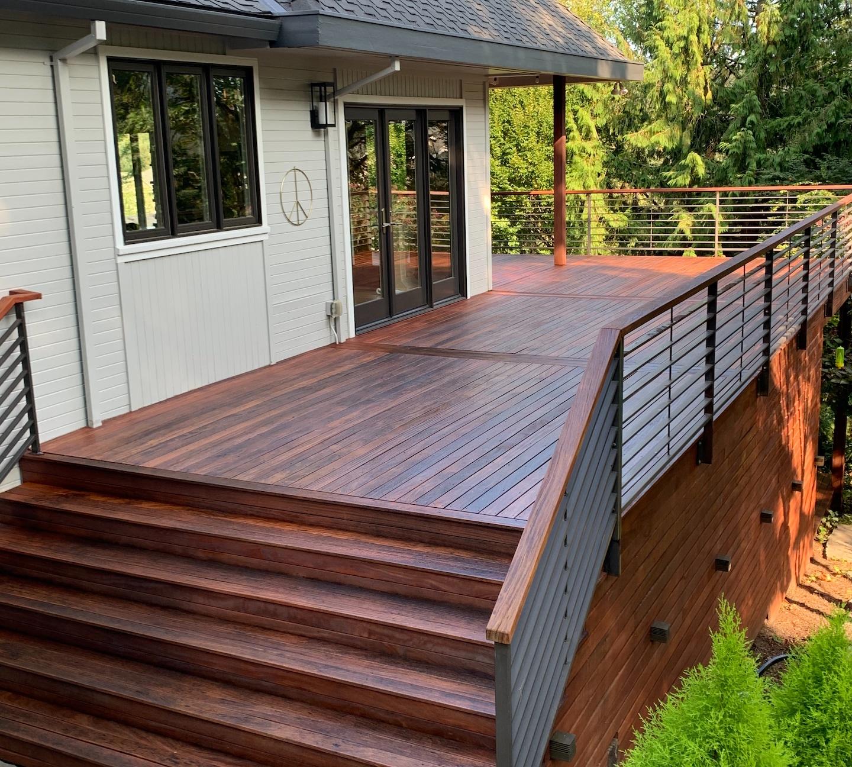 Deck refinish in Portland