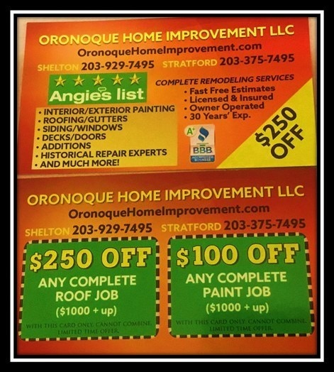 Oronoque Home Improvement LLC logo