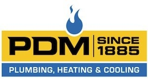 PDM Plumbing, Heating, Cooling logo