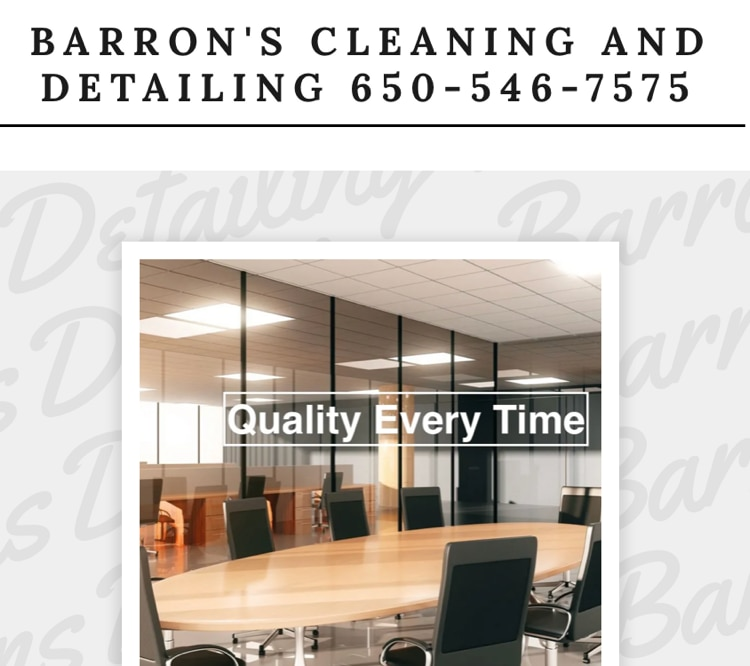 Barrons Cleaning And Detailing logo