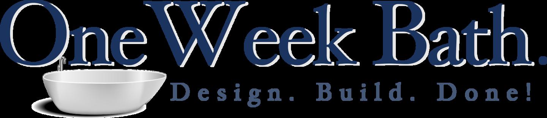 One Week Bath logo