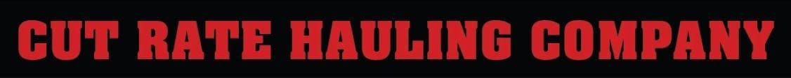 Cut Rate Hauling Co logo