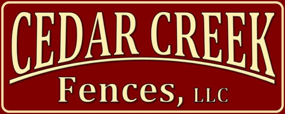 Cedar Creek Fences logo