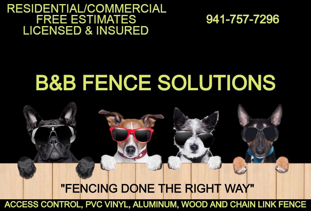 B&B Fencing Solutions INC logo