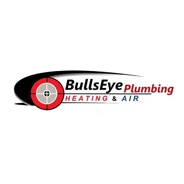 BullsEye Plumbing Heating & Air logo