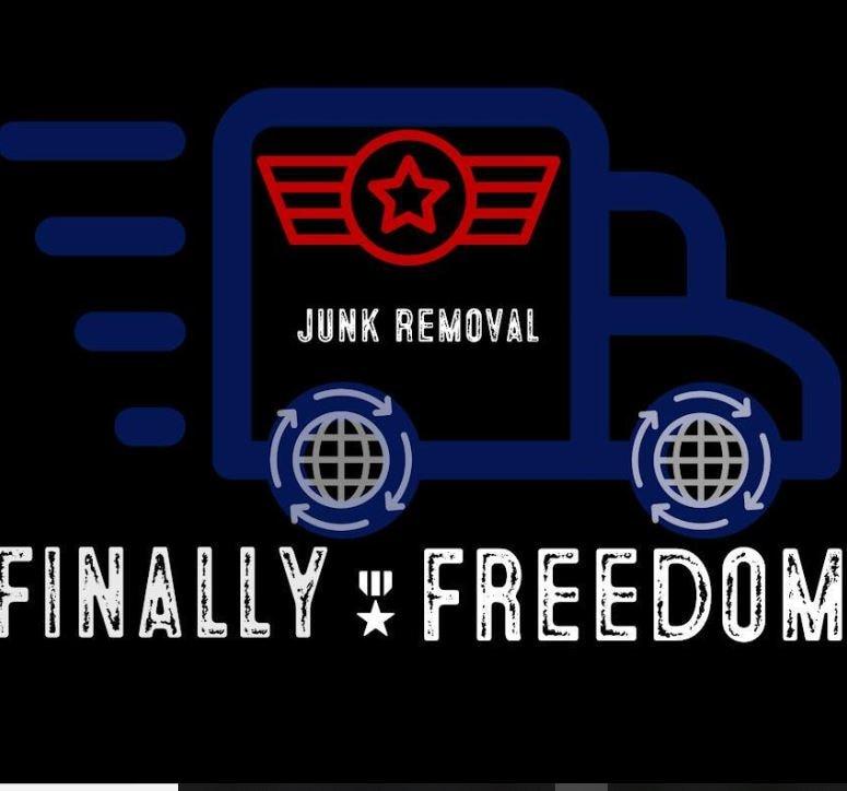 Finally Freedom Junk Removal logo