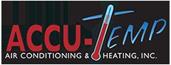 AccuTemp Air Conditioning & Heating, Inc. logo