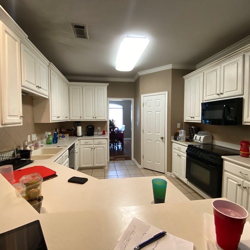 Cabinet Refacing/Restoration Project