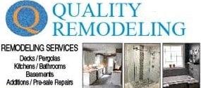 Quality Remodeling logo