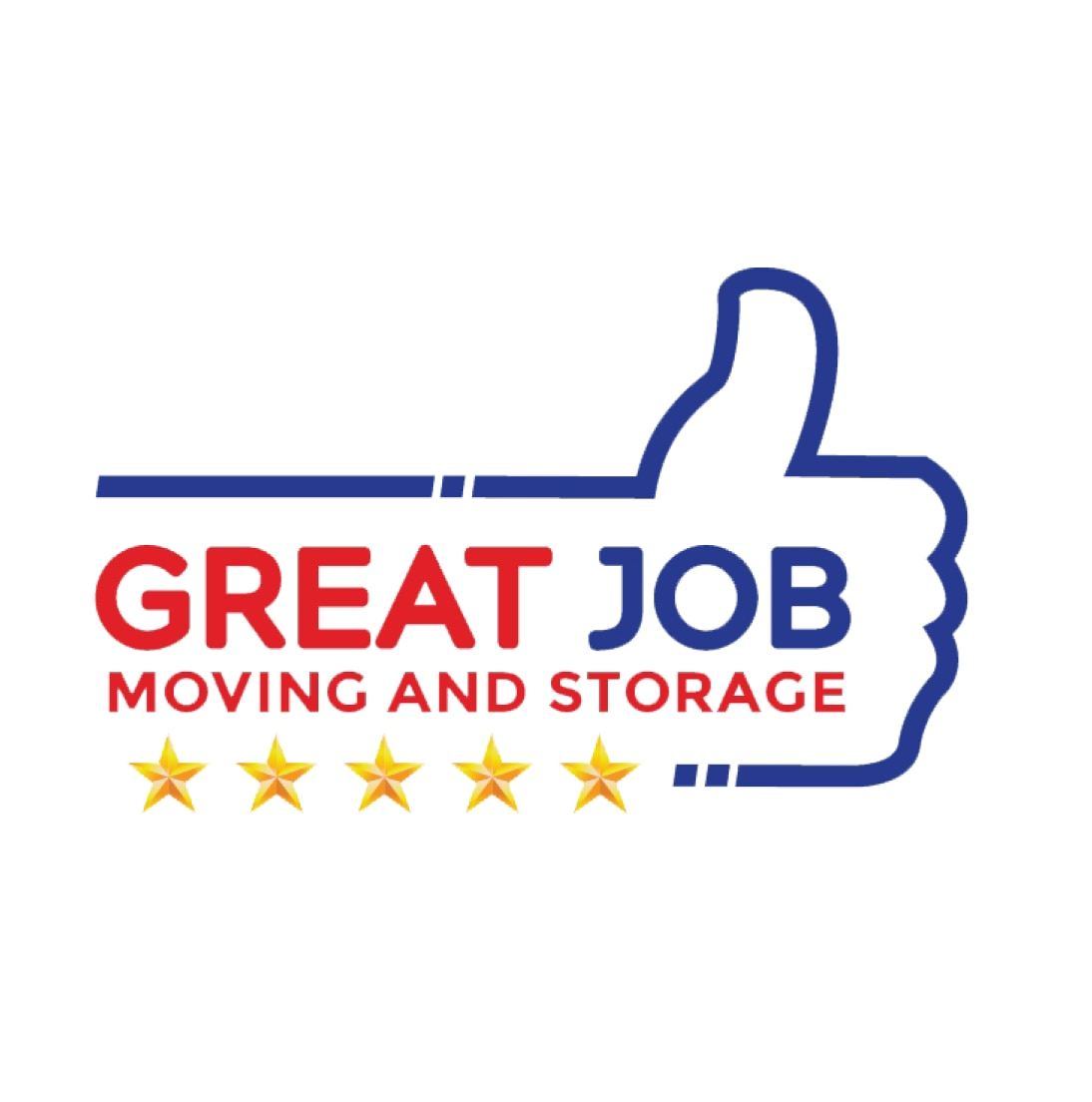 Great Job Moving and Storage logo