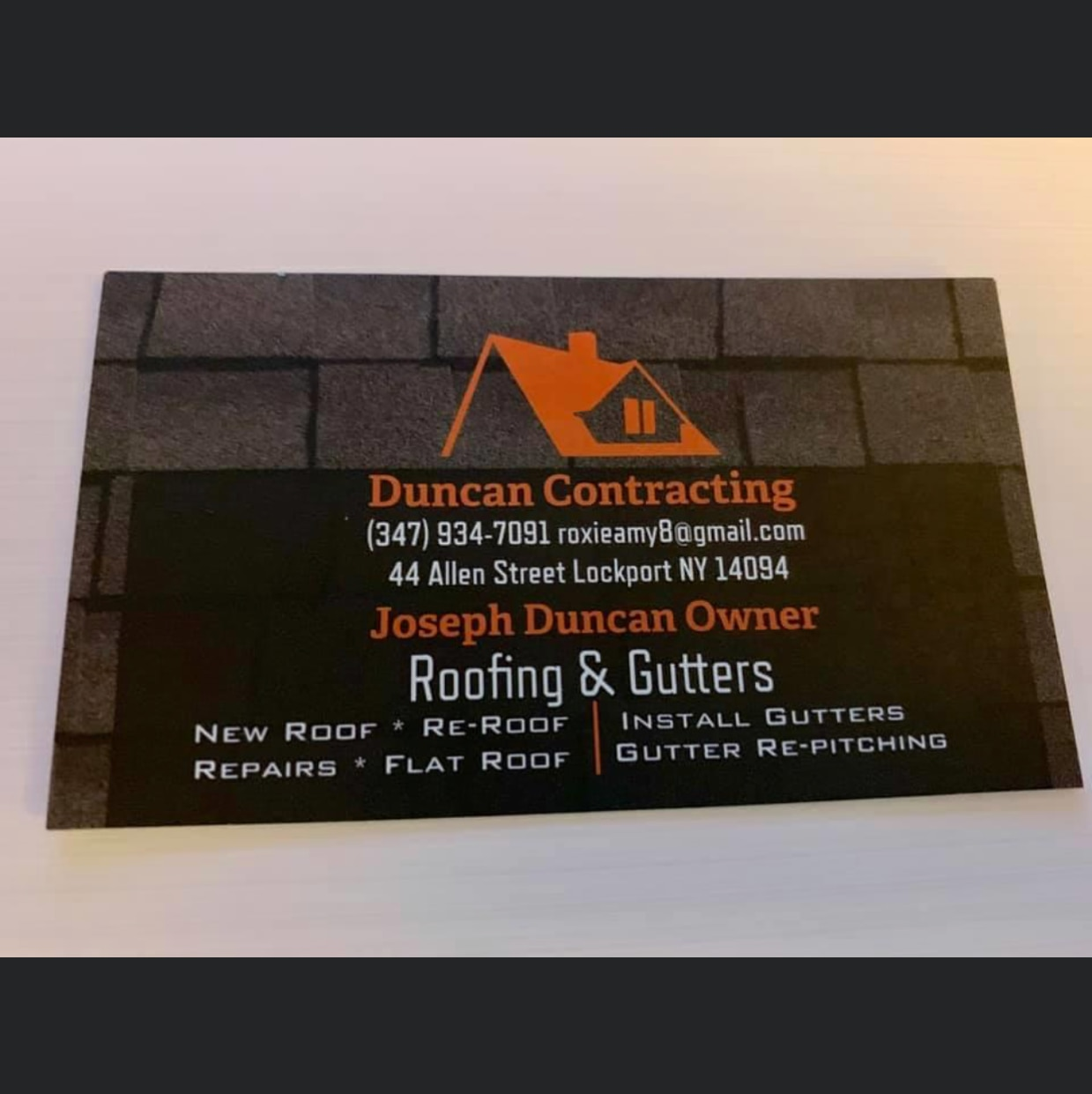 Duncan Contracting logo
