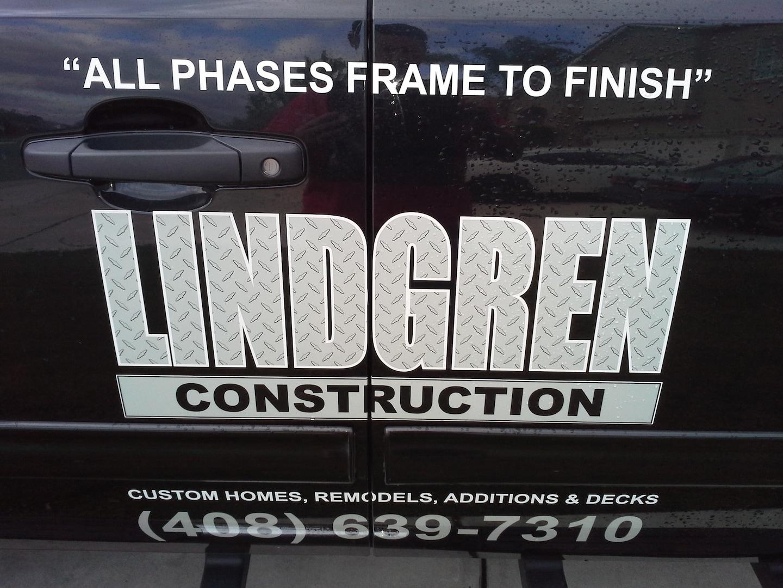 Lindgren Construction logo