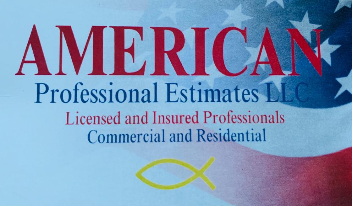 American Professional Estimates LLC logo