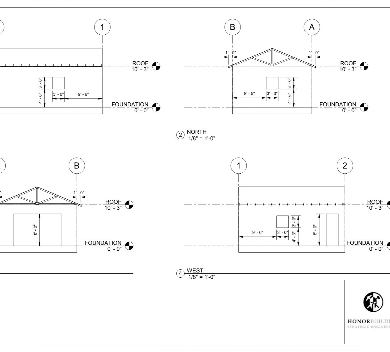 Plans for a Detached Garage