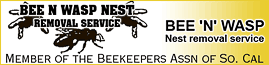 BEE N' WASP NEST REMOVAL SERVICE logo