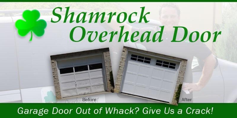 Shamrock Overhead Door logo