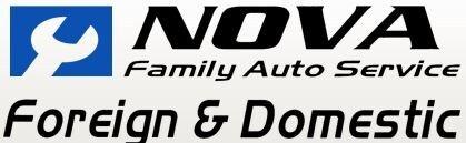NOVA FAMILY AUTO SERVICE logo