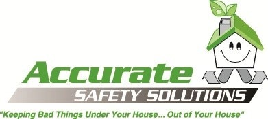 ACCURATE SAFETY SOLUTIONS - ACCURATE RADON logo
