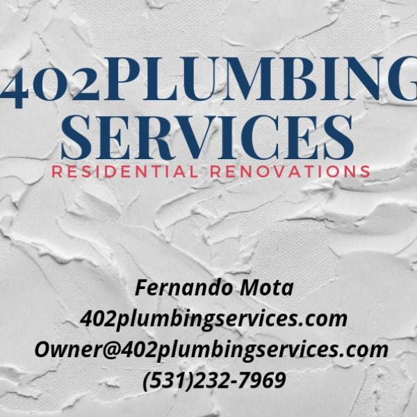 402Plumbing Services  logo