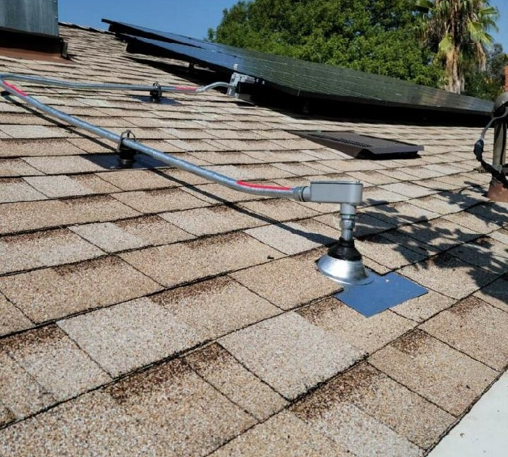 Roofing and Solar Installation