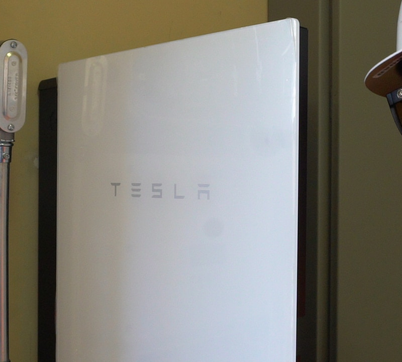 Tesla Powerwall Home Battery Installation August 18, 2020