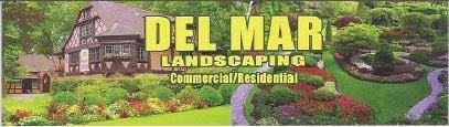 Del Mar Landscaping logo